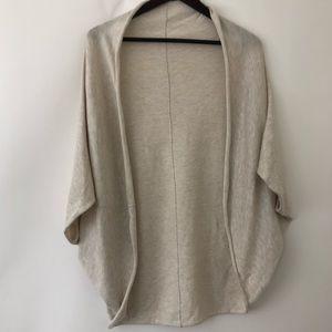 Zara Knits poncho sweater